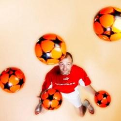 voetbal jongleur boeken