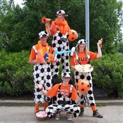 het te gekke oranje team boeken