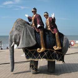 jumbo de olifant straattheater boeken
