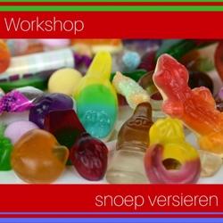 kids workshop snoep versieren boeken