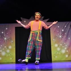 kindershow clown babellos pret parade boeken